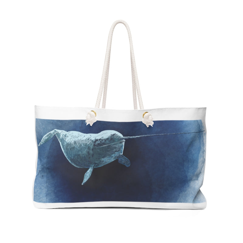 Narwhal Weekender Bag | Abi C Designs