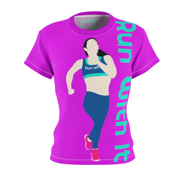 Run With It - Song | Women's Performance T-Shirt
