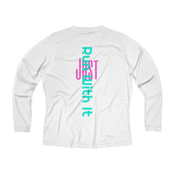 Run With It - Song | Long Sleeve Performance V-neck Tee