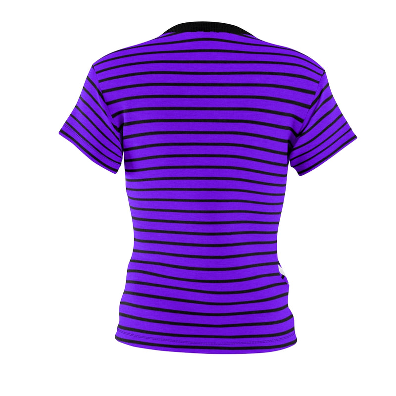 Stripy Dots Calico Koi Aster Dotless Tee | Just Abi Collection