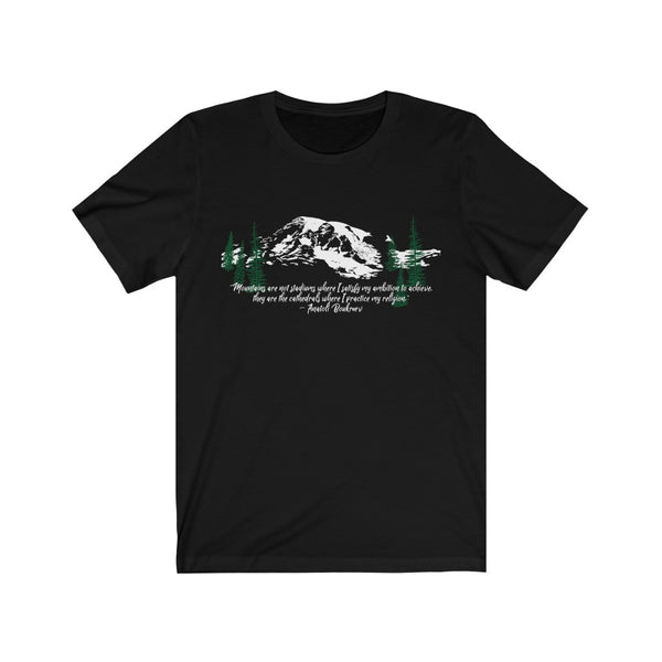 Mountains Are My Cathedrals Tee | Just Abi