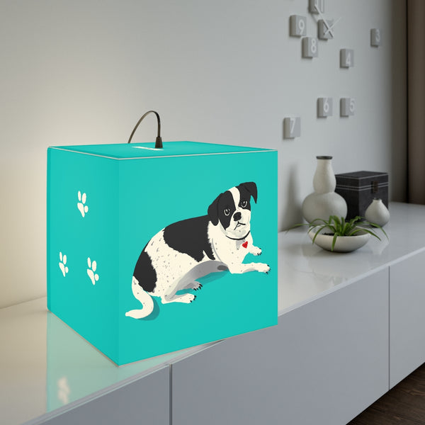 Walter Puppy Love Light Cube | Just Abi Housewares Collection