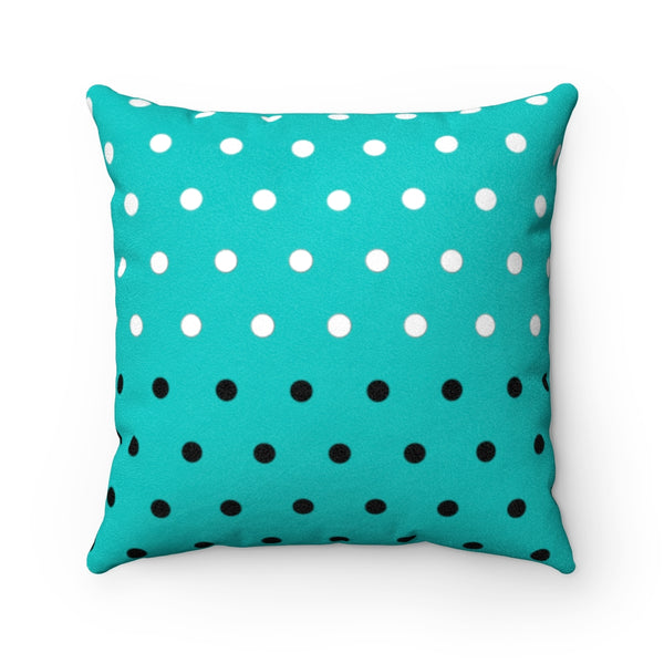 Cthulhu Dot Gentlemen Tiffany Faux Suede Square Pillow | Abi C Designs