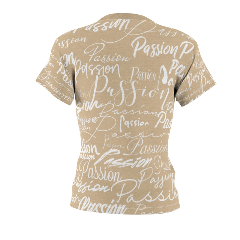 Passion Heart Sand Tee | Just Abi Collection