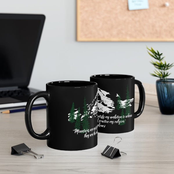 Mountains Are My Cathedrals Mug | Just Abi Housewares Collection