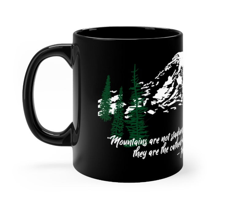 Mountains are my Cathedrals Mug | Just Abi