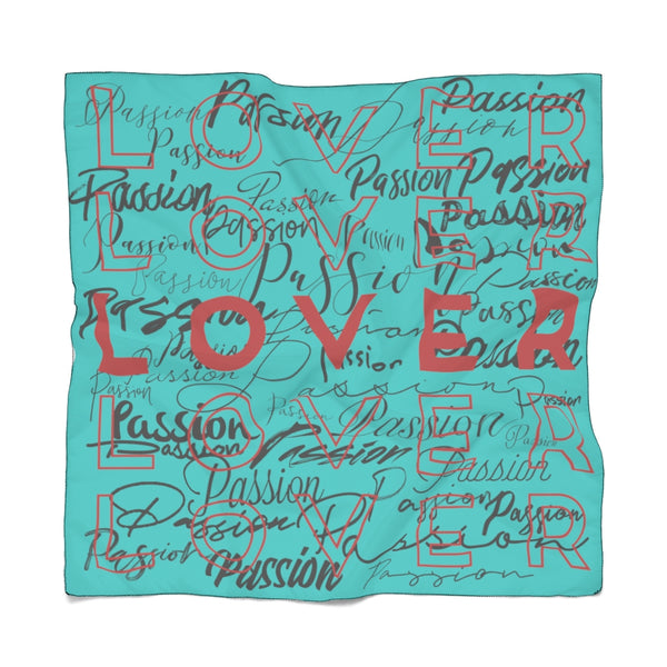 Passion Lover Tiffany Poly Scarf | Just Abi Collection