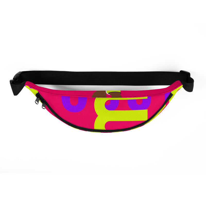Run With It - Deirdre | Water-Resistant Inner Pocket Runners' Fanny Pack | Just Abi Athletic Collection