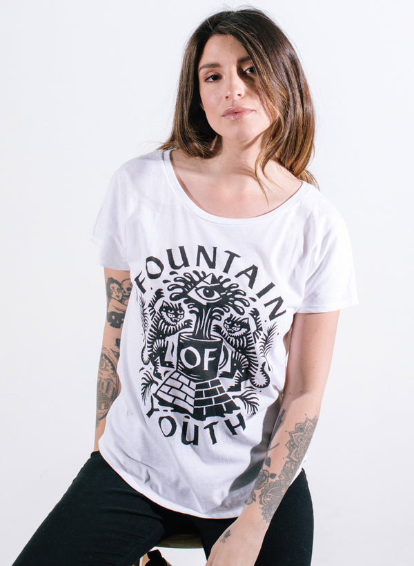Fountain of Youth Dolman Tee