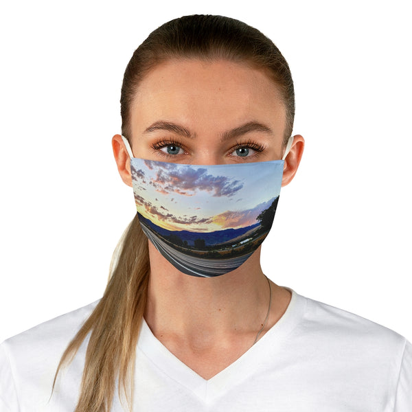 Custom Good Morning Colorado Face Mask
