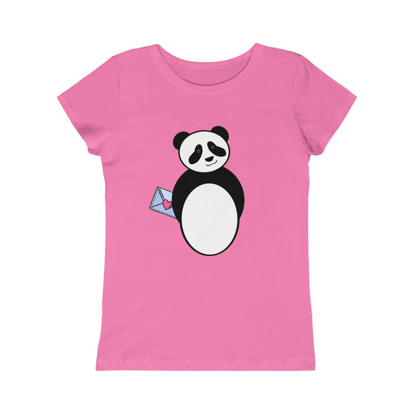 Panda Not Just A Valentine Kids' Tee | Just Abi
