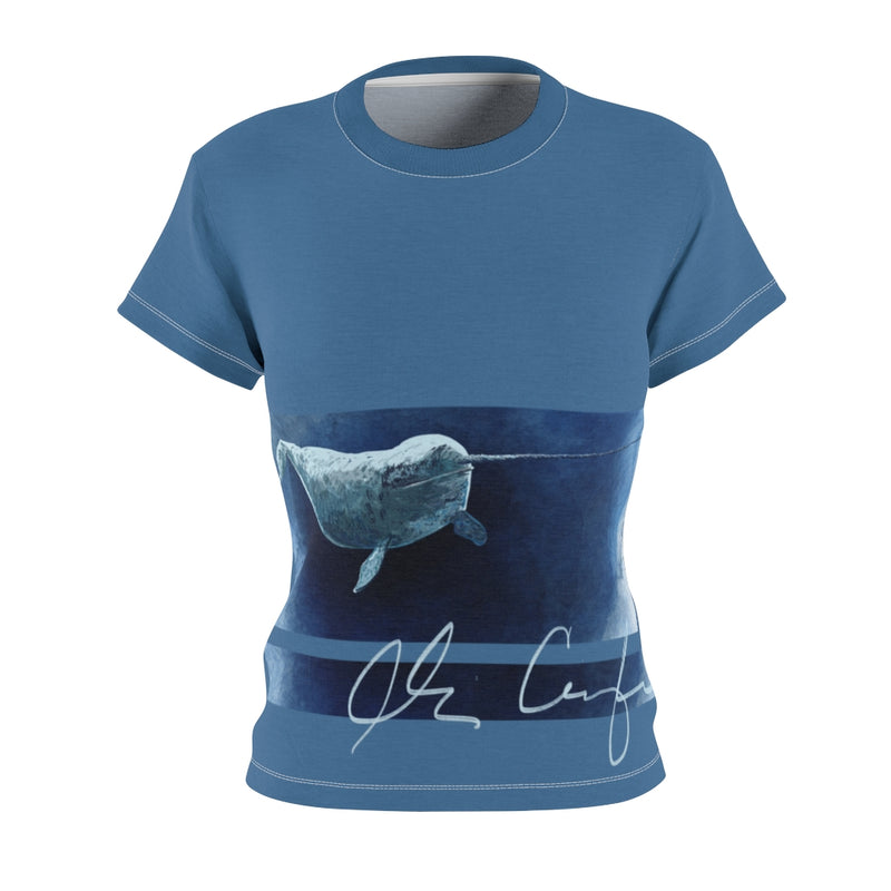 Abi C Designs Narwhal T-shirt