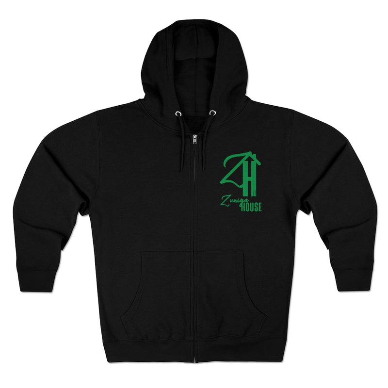 Zuniga House Unisex Premium Full Zip Hoodie | Just Abi Collection