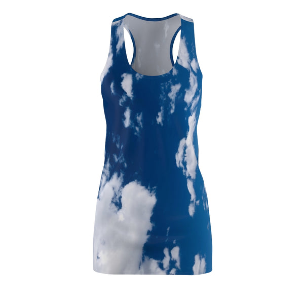 Women's Cloud Racerback Dress | Just Abi Collection