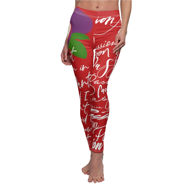 Passion Pants - Crimson | Just Abi Collection