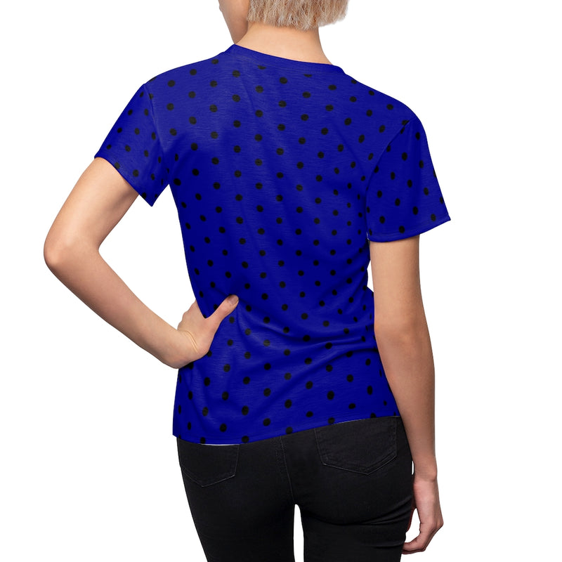 Fire and Water Stripey Dots Stripeless Tee | Just Abi Collection