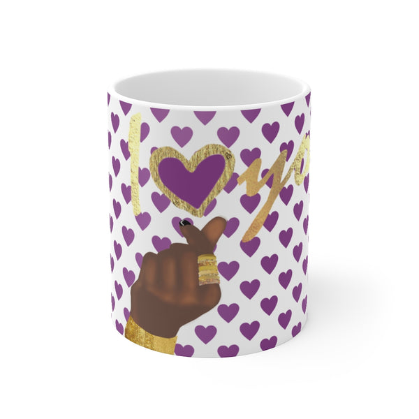 """I Love You"" White 11oz Mug 