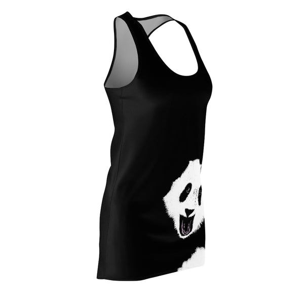 Women's Panda Racerback Dress | Just Abi Collection