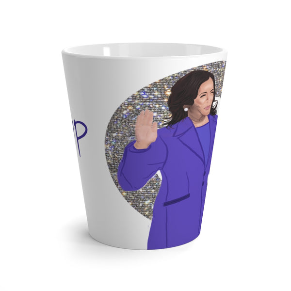 @VP Sparkle Kamala Harris Swearing In 12oz Latte Mug | Just Abi Housewares Collection