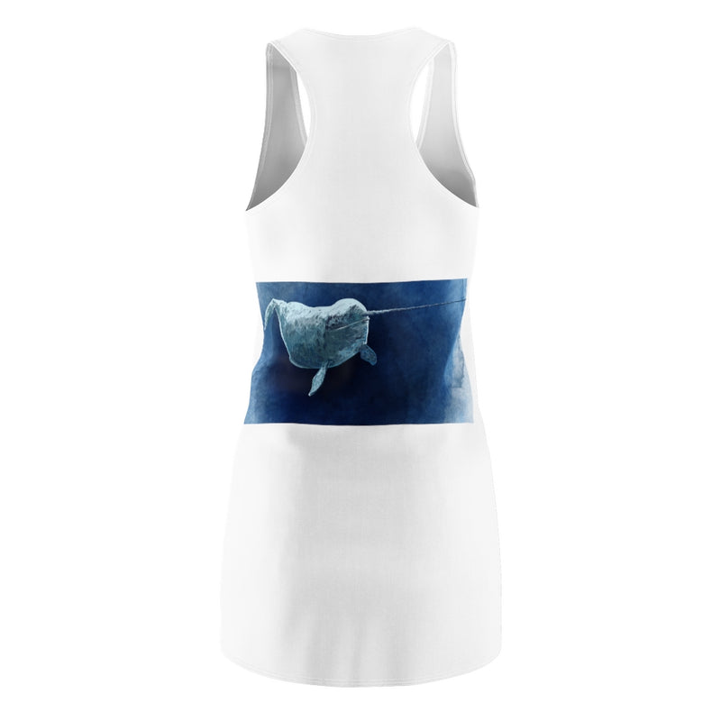 Abi C Designs Women's Narwhal Racerback Dress