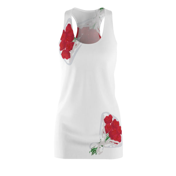 Abi C Designs Women's Bouquet Racerback Dress