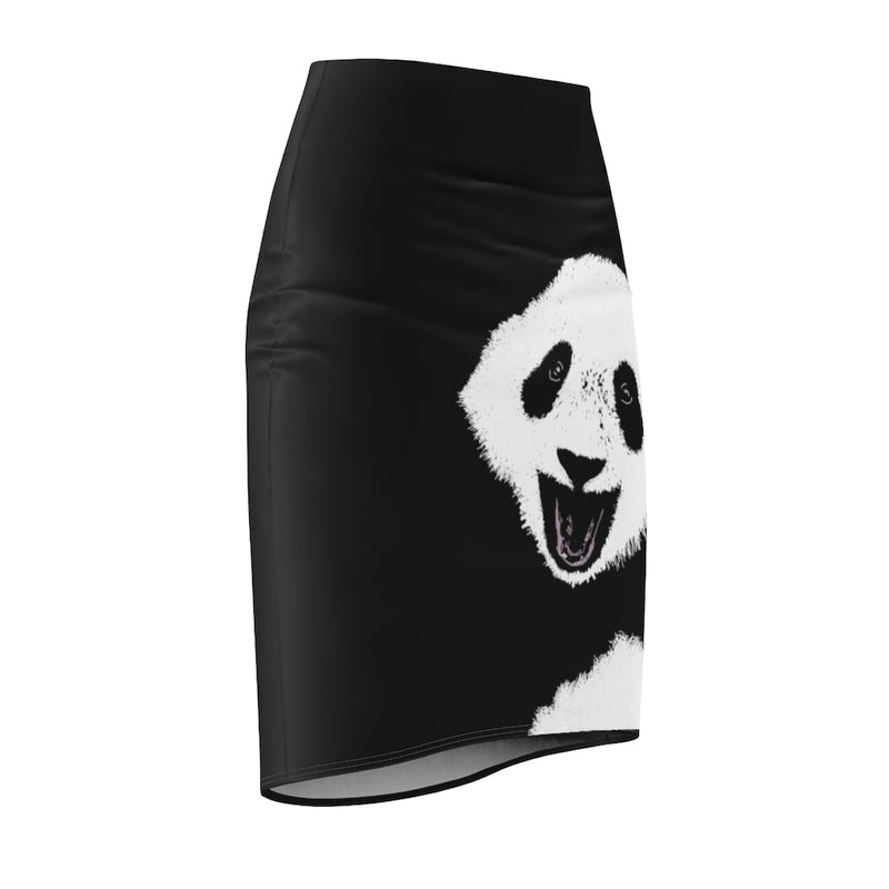 Abi C Designs Women's Panda Pencil Skirt