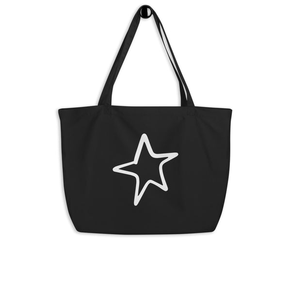 4th of July | Large Organic Cotton Tote Bag | Just Abi Collection