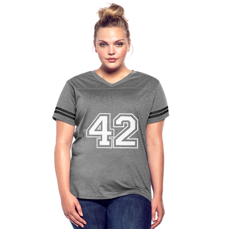42 Women's Vintage Sport T-Shirt - heather gray/charcoal