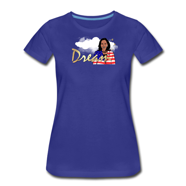 Dream Kamala Women's Premium T-Shirt - royal blue