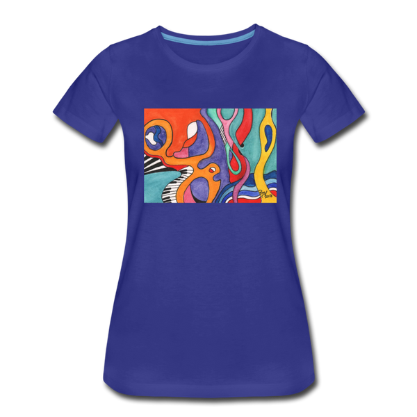 Mary Manrod Premium T-Shirt - royal blue