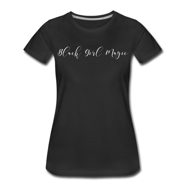 Black Girl Magic Premium T-Shirt | Abi C Designs - black