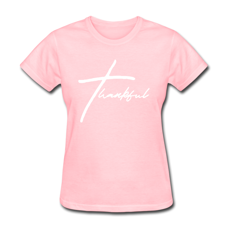 Thankful Tee | Abi C Designs - pink