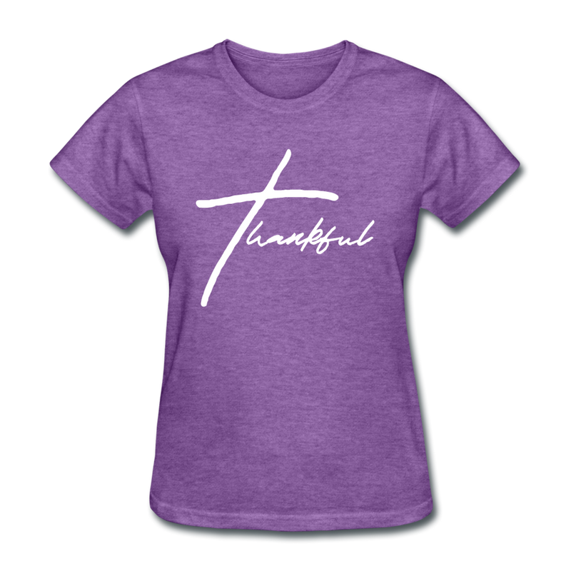 Thankful Tee | Abi C Designs - purple heather