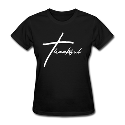Thankful Tee | Abi C Designs - black