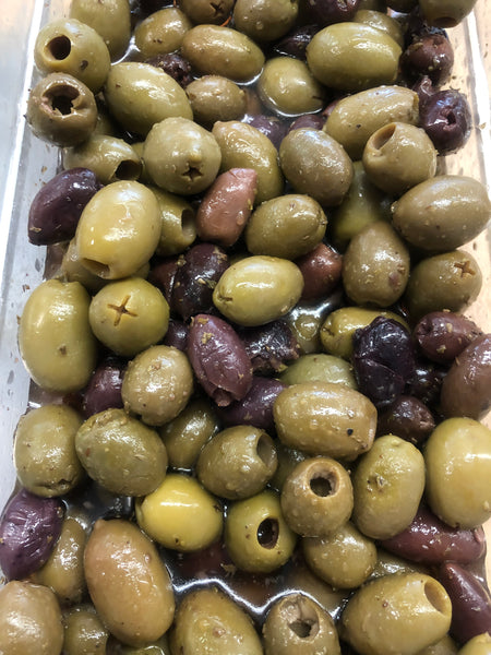 Greek Olives Blend Pitted (Pick-Up Only)