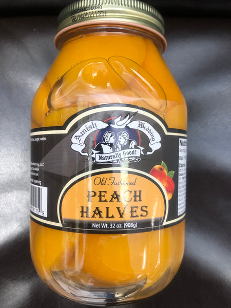 Old Fashioned Peach Halves (Pick-up Only)