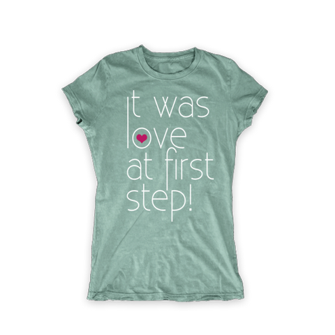 Love at First Step Women Tee