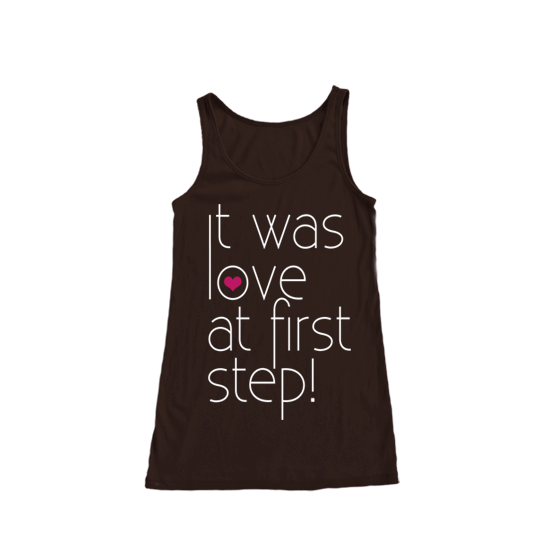 Love at First Step Women Tank