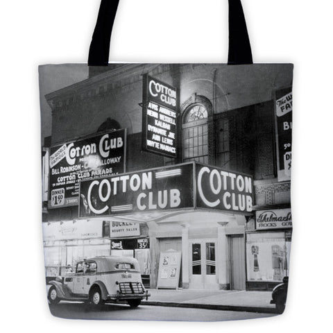Cotton Club Tote bag