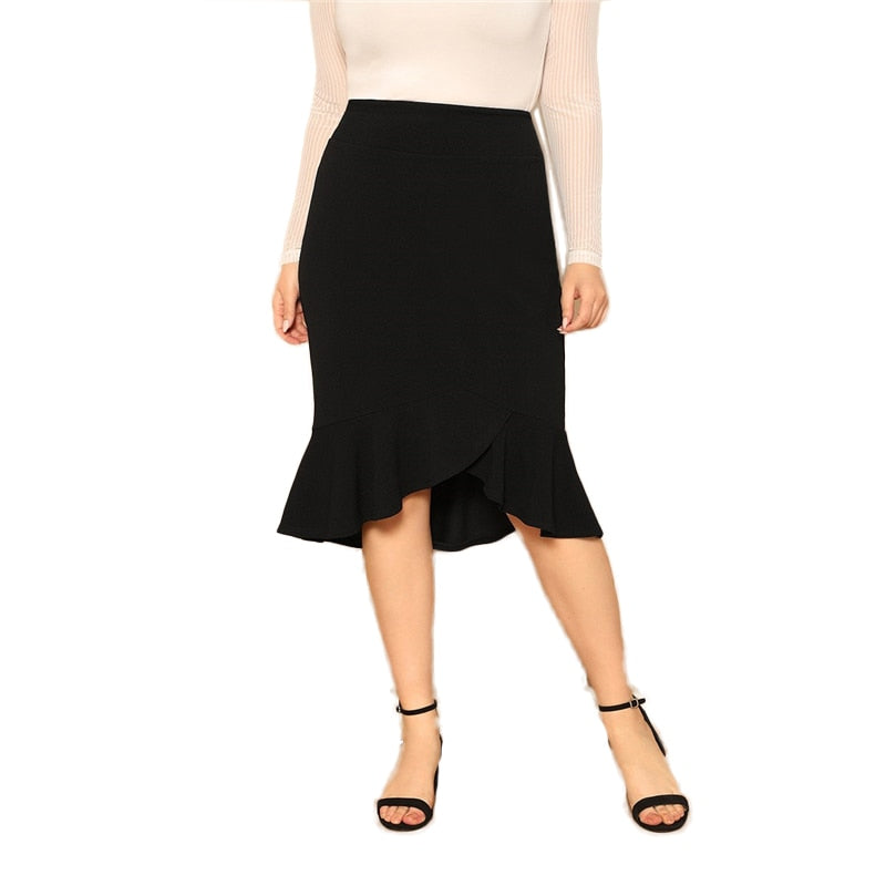 Aimee Plus Size Women Skirt