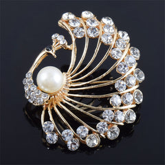 Retro Stylish Peacock Women Brooch