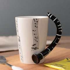 Love Music Mug (Various Designs and instruments)