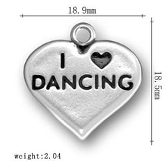 Love Dancing & Dance Themed Pendants