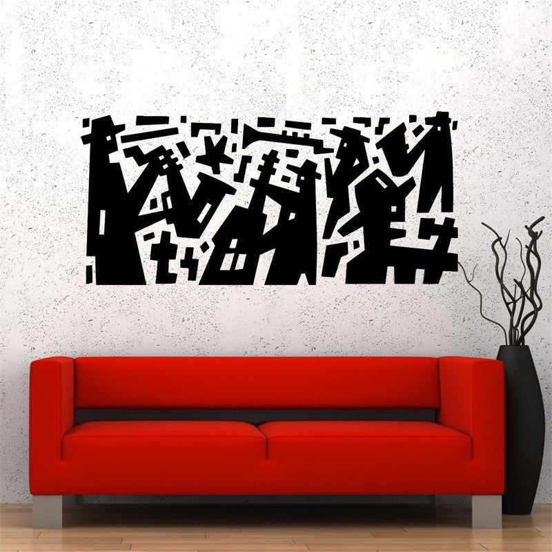 Vinyl Art for Walls - Music Jazz Band