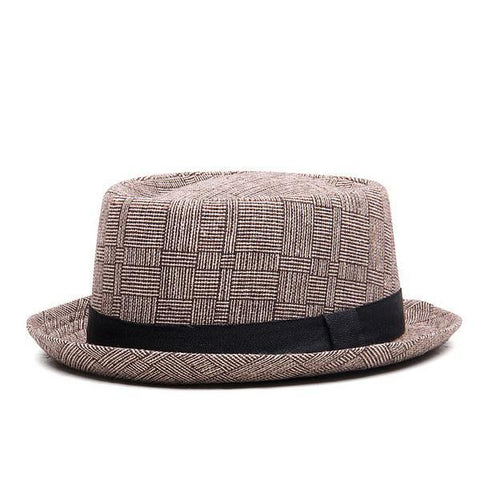 The plaid fedora for Men & Women