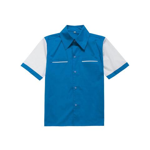 Love me Tender Blue - Men Shirt