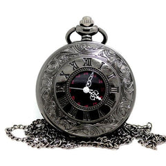 Roman Unisex Pocket Watch