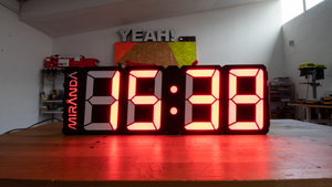 GIANT 3D PRINTED CLOCK STL FILES