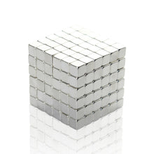 Load image into Gallery viewer, Original 4MM 216PCS Silver Buckycubes Magnetic Building Blocks Cubes Toy