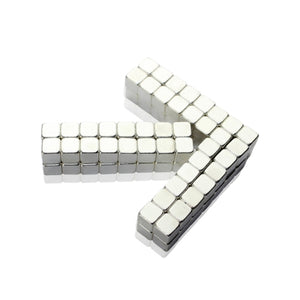 Original 4MM 125PCS Nickel Buckycubes Magnetic Building Blocks Cubes Toy